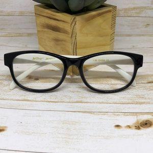 Betsey Johnson Black/White Reading Glasses 1.50